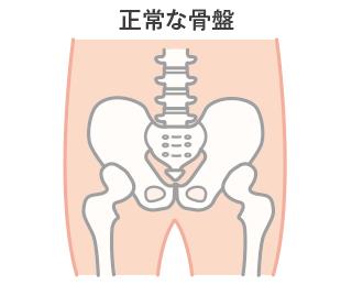 正常な骨盤