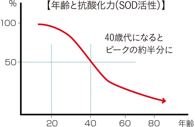 抗酸化力グラフ