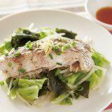 健美レシピ NO.16 アミノ酸が心身の不調をケアする食材「鯛」