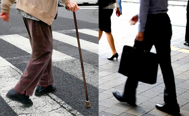 長時間の歩行や立ち仕事の強い味方に