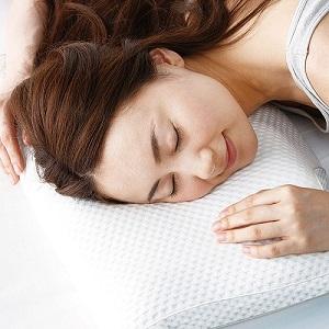 横向き睡眠も楽々