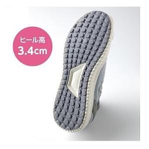 安定感のある靴底などが歩行をサポート
